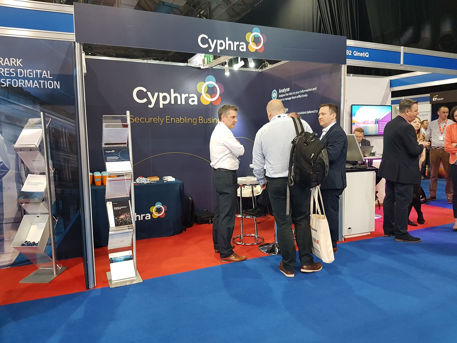 cyberUK cyphra securely enabling business